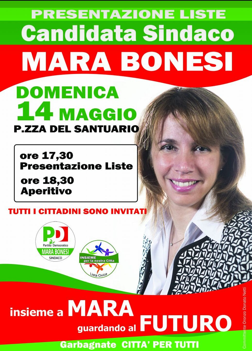 Amministrative 2017 i candidati sindaco a garbagnate for Deputate pd donne elenco